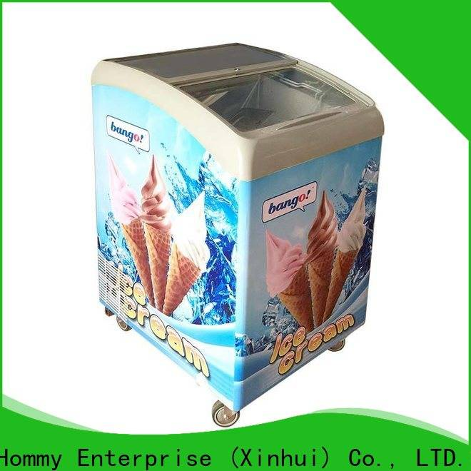 Hommy ice cream display personalized