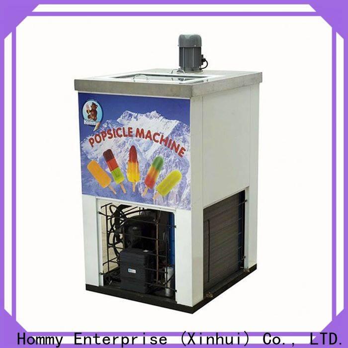 Hommy popsicle machine supplier