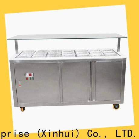 Hommy commercial ice cream display freezer personalized