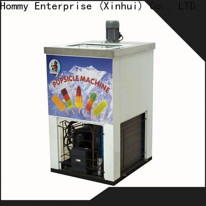 Hommy custom ice lolly machine supplier