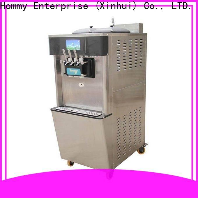 Hommy new soft serve ice cream maker