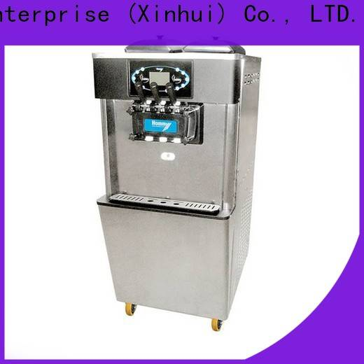China commercial soft serve ice cream machine manufacturer