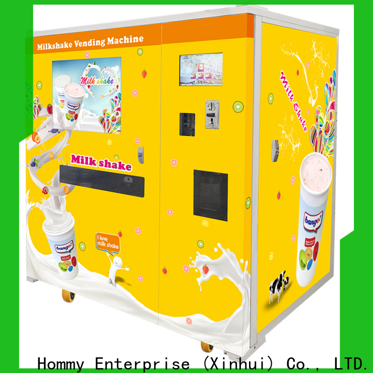 quality assurance vending machine ice cream supplier