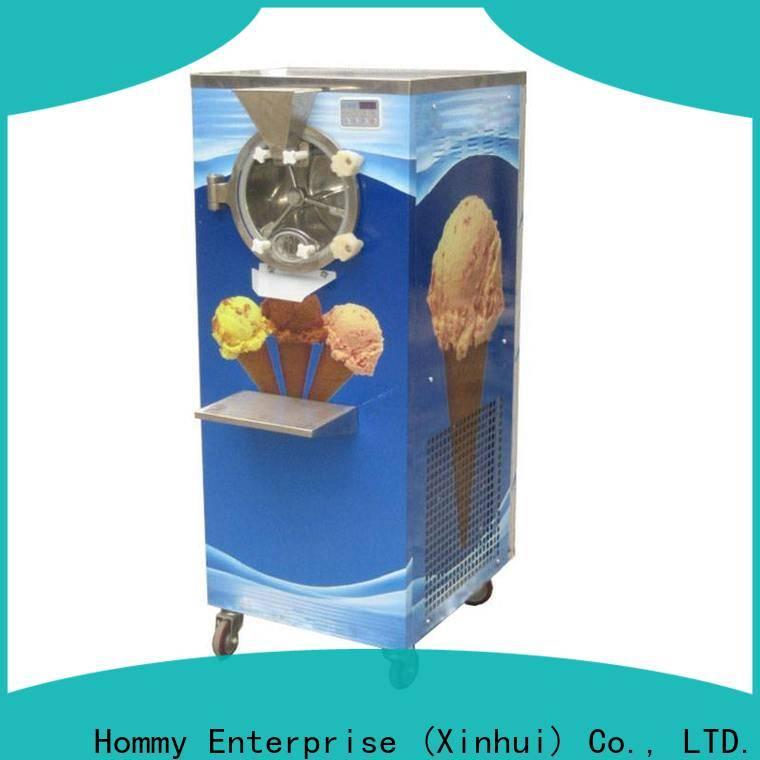 Hommy fresh new design gelato machine factory
