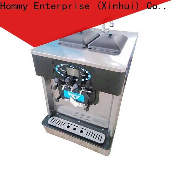 Hommy competitive price commercial ice cream machine wholesale