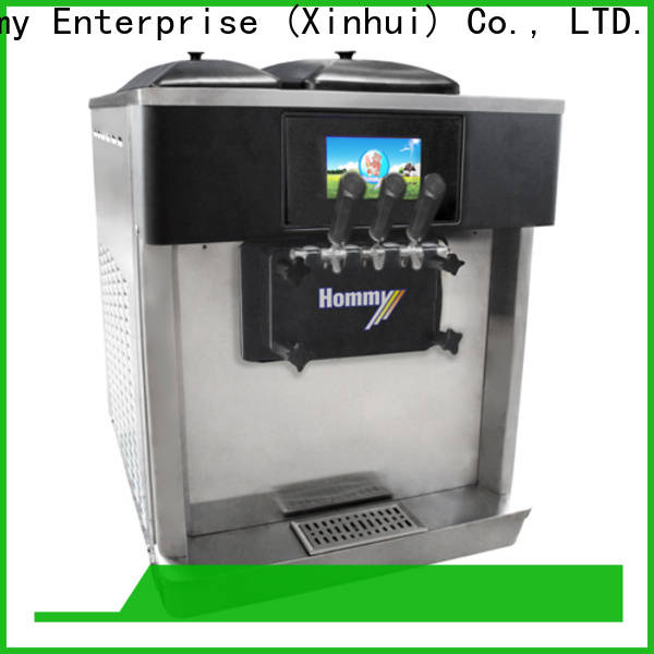 Hommy competitive price ice cream machine for sale manufacturer