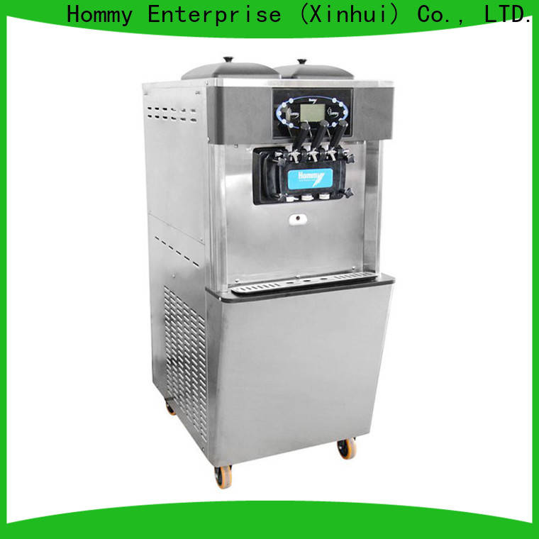 Hommy frozen yogurt machine supplier