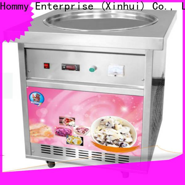 Hommy ice cream roll maker trendy designs
