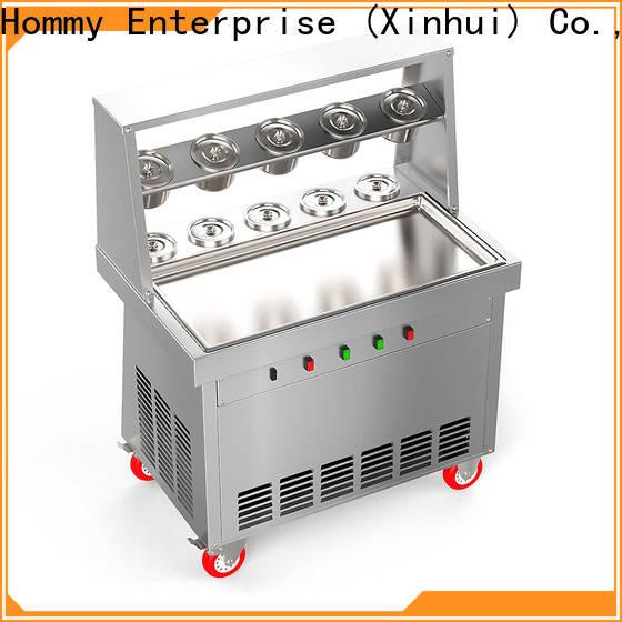 Hommy ice cream roll machine price factory