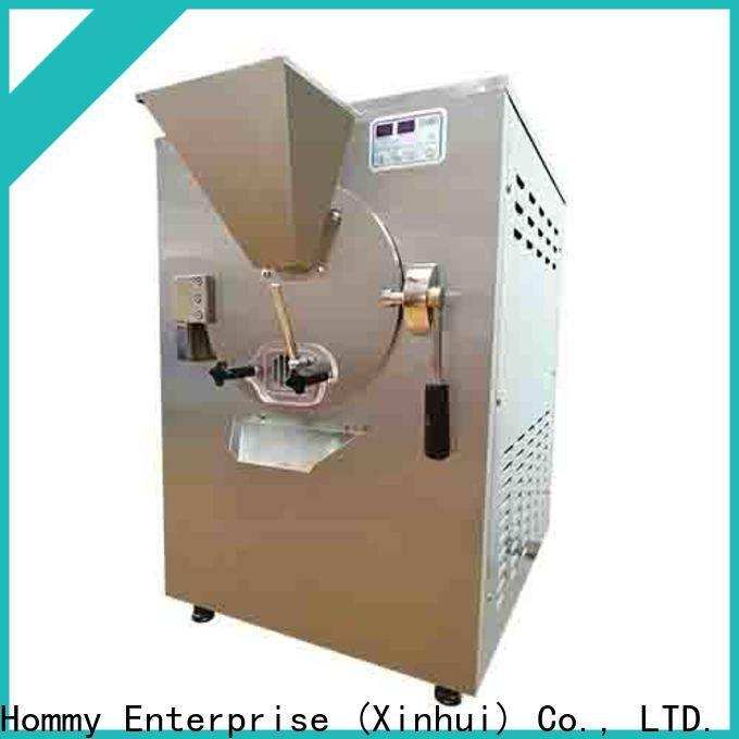 Hommy sturdy construction gelato machine factory