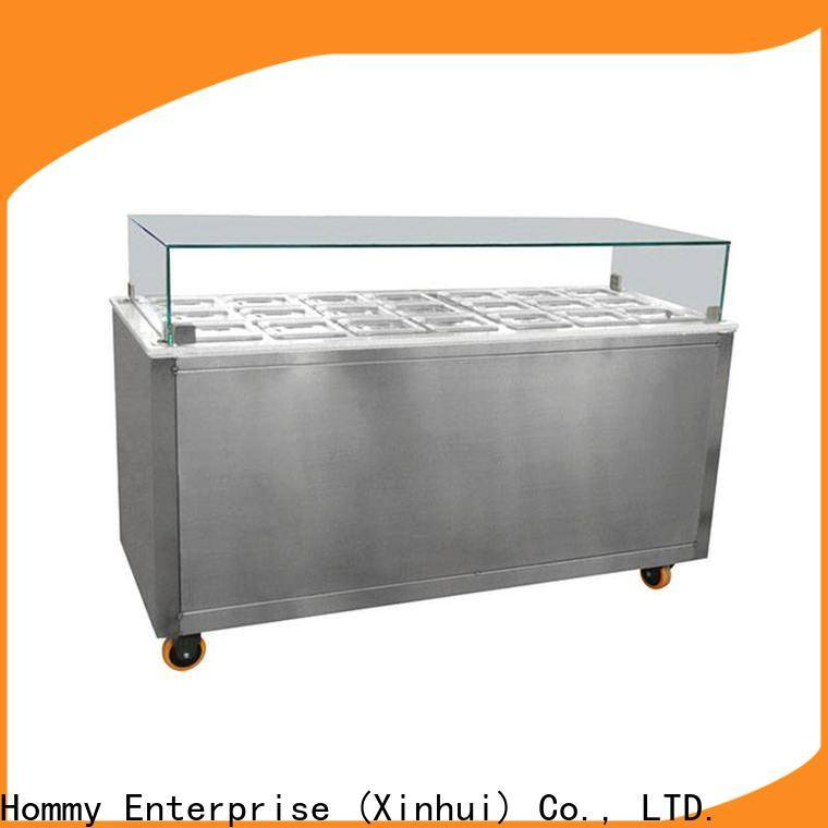 Hommy ice cream display counter wholesale