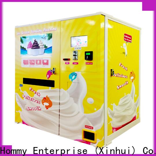 Hommy vending machine supplier factory