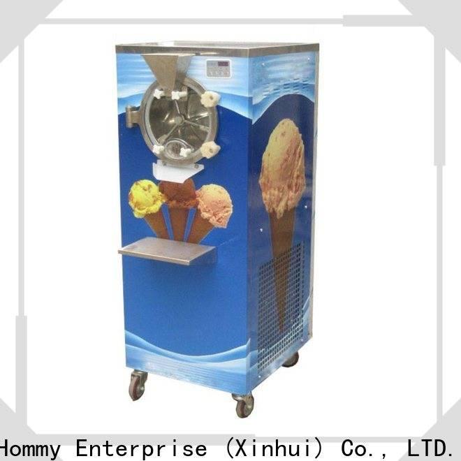 Hommy skillful technologists hard ice cream machine manufacturer