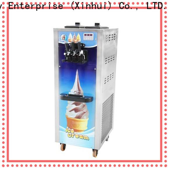 best soft serve ice cream machine factory