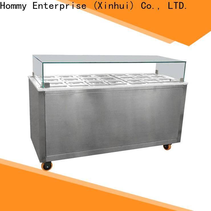 Hommy China ice cream display freezer design