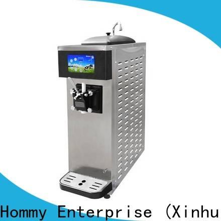Hommy soft serve ice cream maker supplier