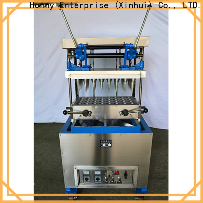 Hommy competitive price icecream cone machine wholesale