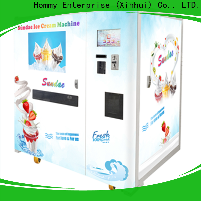 quality assurance icecream vending machine wholesale