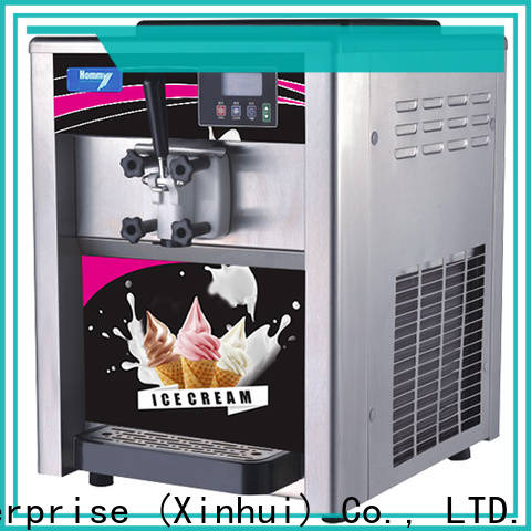 Copper Ice Cream Machine