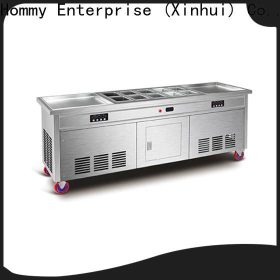 Hommy ice cream roll machine wholesale
