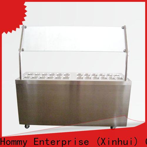 Hommy ice cream display case wholesale