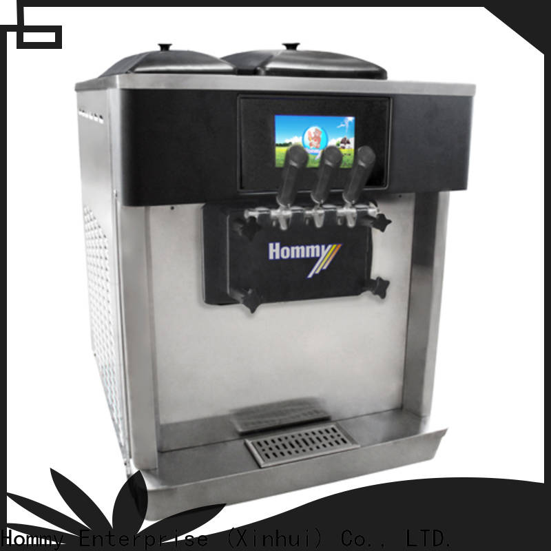 Hommy competitive price frozen yogurt machine manufacturer