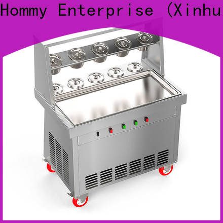 Hommy highly-efficient ice cream roll machine price factory