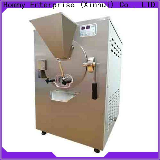 Hommy sturdy construction ice cream maker machine fast delivery