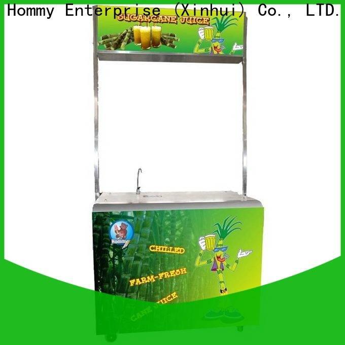 Hommy sugar cane juicer machine supplier