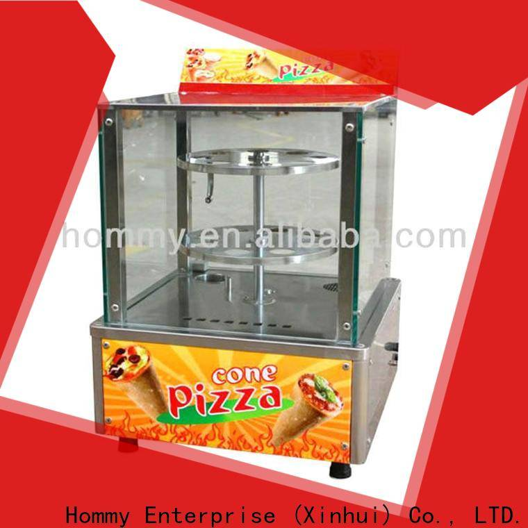 Hommy new type pizza cone maker famous brand