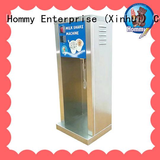 Hommy high quality milk shake machine manufacturer for ice cream stands