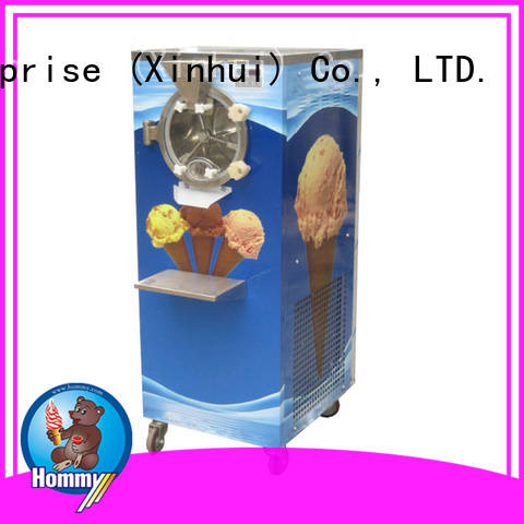 low vibration gelato ice cream machine fast shipping for ice cream shop Hommy