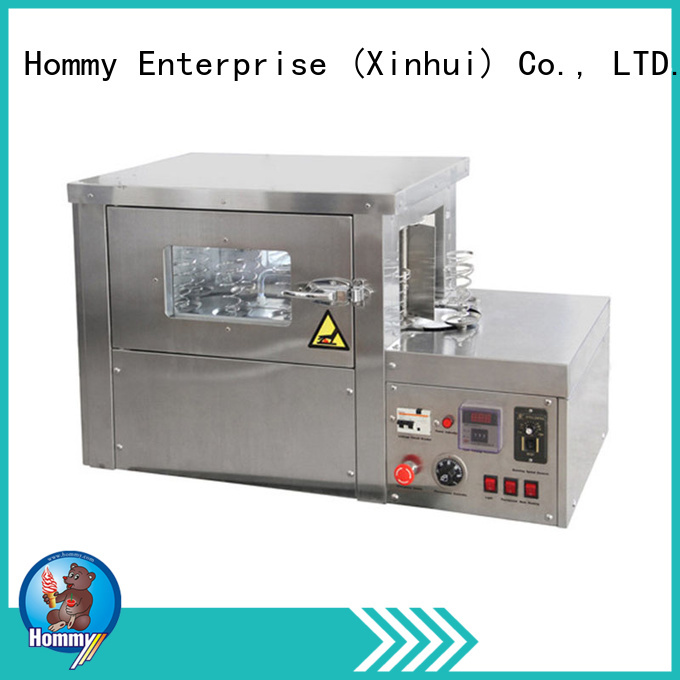 Hommy advanced design pizza cone maker wholesalers supplier for ice cream shops