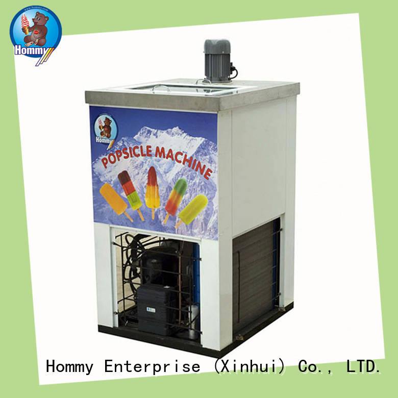 Hommy high quality popsicle making machine supplier for convenient store