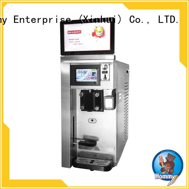 Hommy most popular smart vending machine high-tech enterprise for beverage stores