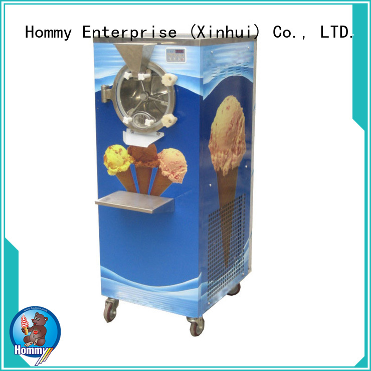 fresh new design hard ice cream machine price supplier for bake shop Hommy