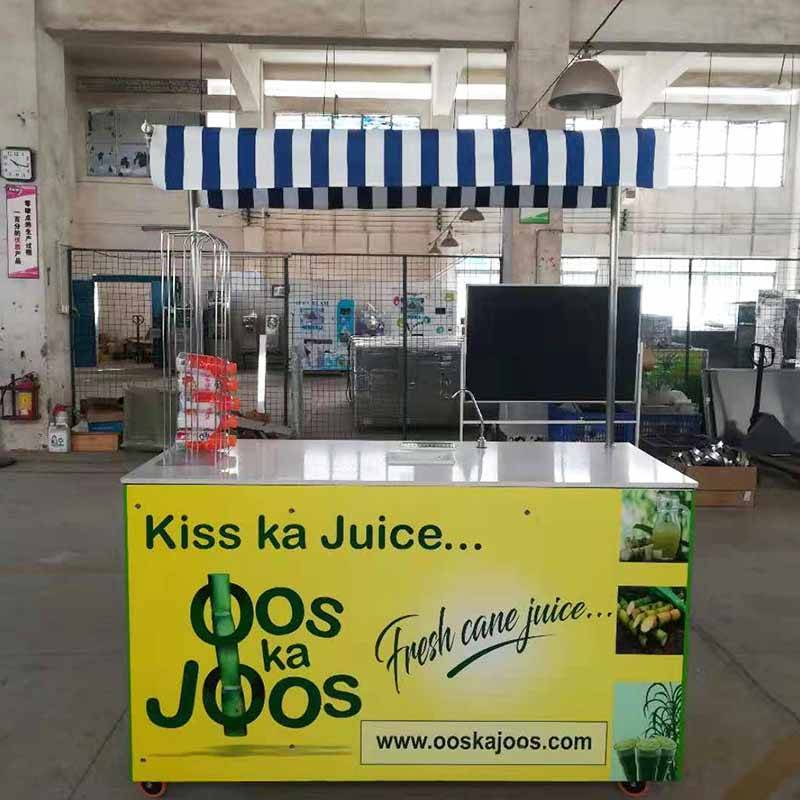 Sugar Cane Juice Extractor Machine with cooler
