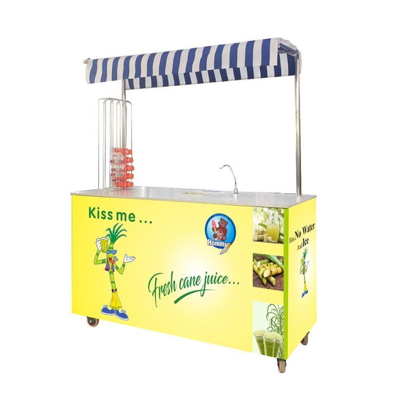 professional electric sugarcane juice machine supplier for food shop