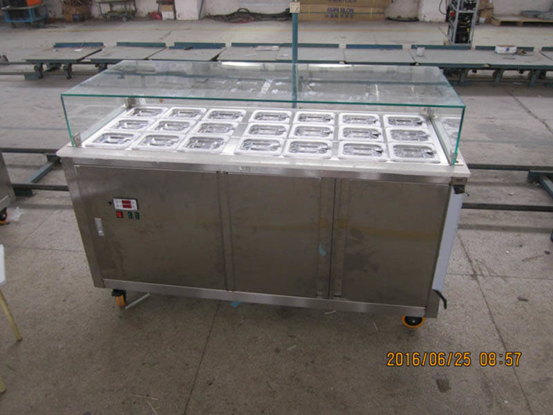 Hommy multifunctional ice cream display freezer for sale freezer gelato for supermarket