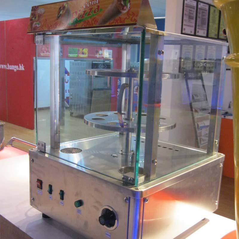 Electric Cone Pizza Warmer Cabinet