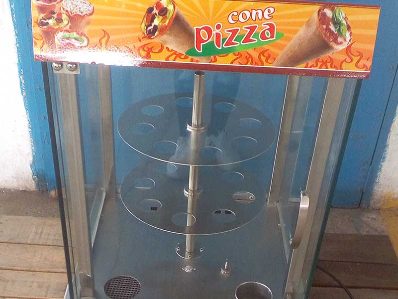 Hommy pizza cone maker wholesale for store-4