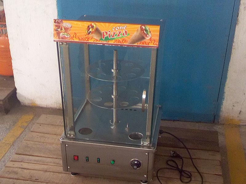 Hommy pizza cone maker wholesale for store-5