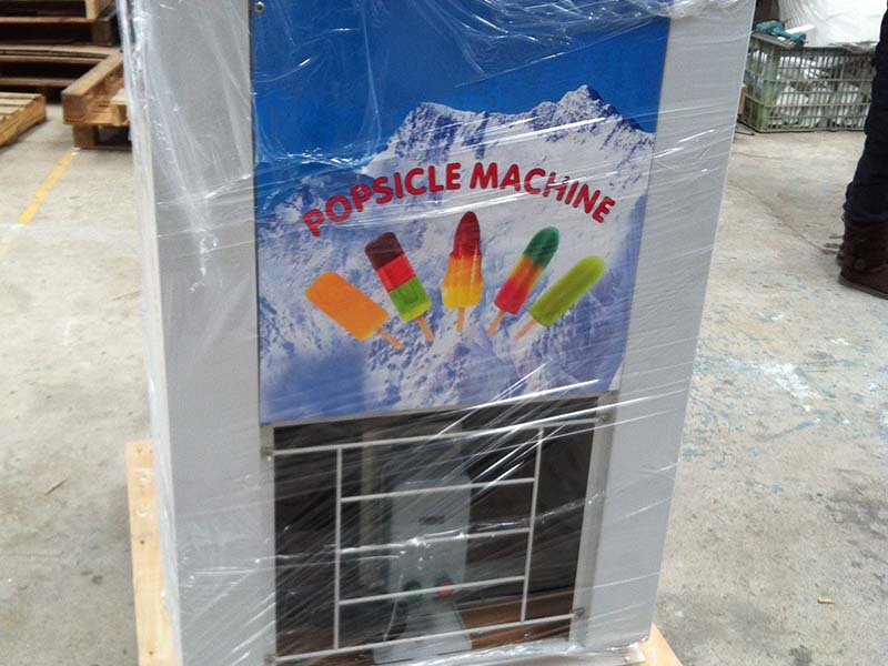 latest industrial popsicle machine popular for convenient store Hommy