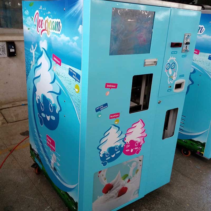 Automatic vending frozn Yogurt machine