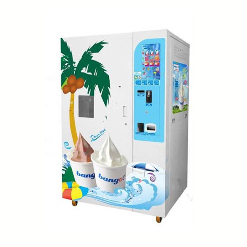 Vending ice cream machine automatic