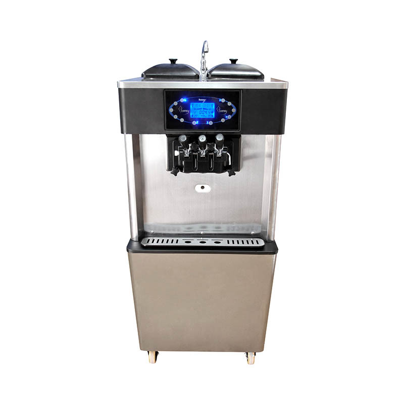 2+1 falvor Soft Serve Freezer&soft ice cream machine