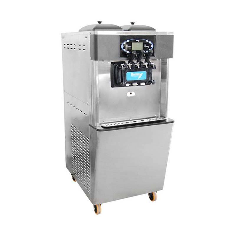 2+1 Flavors Soft Serve Freezer&soft ice cream machine