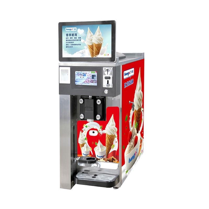 Table top vending ice cream machine