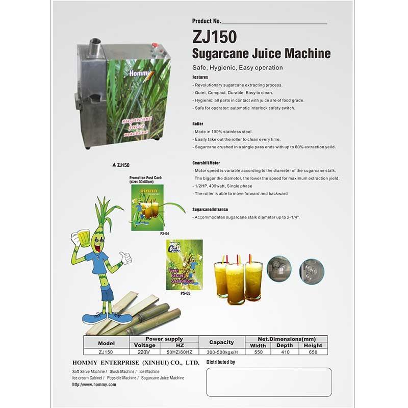 Information of Sugcan juice  machine