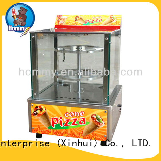 Hommy Hommy pizza cone oven compact structure for restaurants